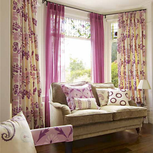 Beautiful curtains living room decorating ideas for Curtain for living room ideas