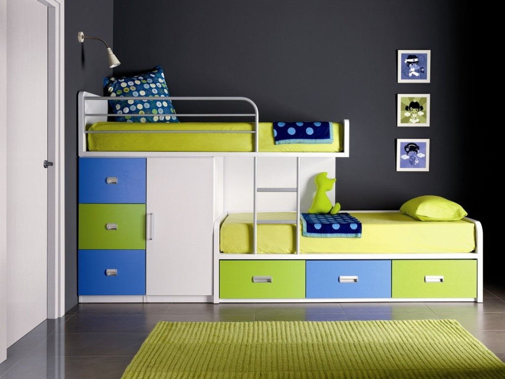 They Work Equally Well With Kids Room As Well As In Adults Room. But Here  We Will Just Discuss About The Kids Room Bunk Beds, Their Styling,  Advantages, ...