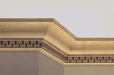 Soft molding is lighter and cheaper : These cornice molding are ...