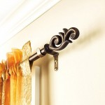 Curtain Rods – Style, types, material and design
