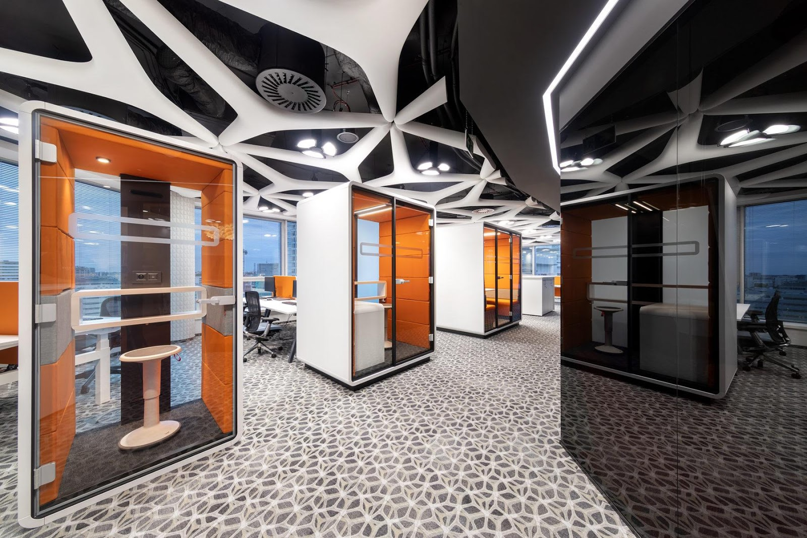 In which industries is it worth using an office acoustic booth?