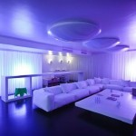 Luxury Apartments Design With Cool Lighting