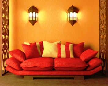 How to choose colors and paints for your house for Decorating with dark colours