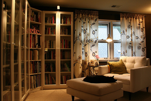 Marvelous Impressive Small Home Library Design Ideas Furniture Small Home Largest Home Design Picture Inspirations Pitcheantrous