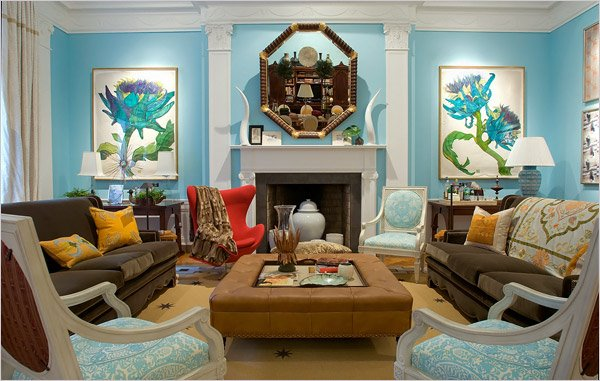 Eclectic interior designing ideas for Eclectic living room design ideas