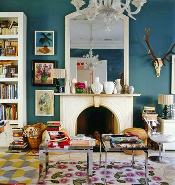 eclectic interior designing ideas - Eclectic Interior Design Blogs