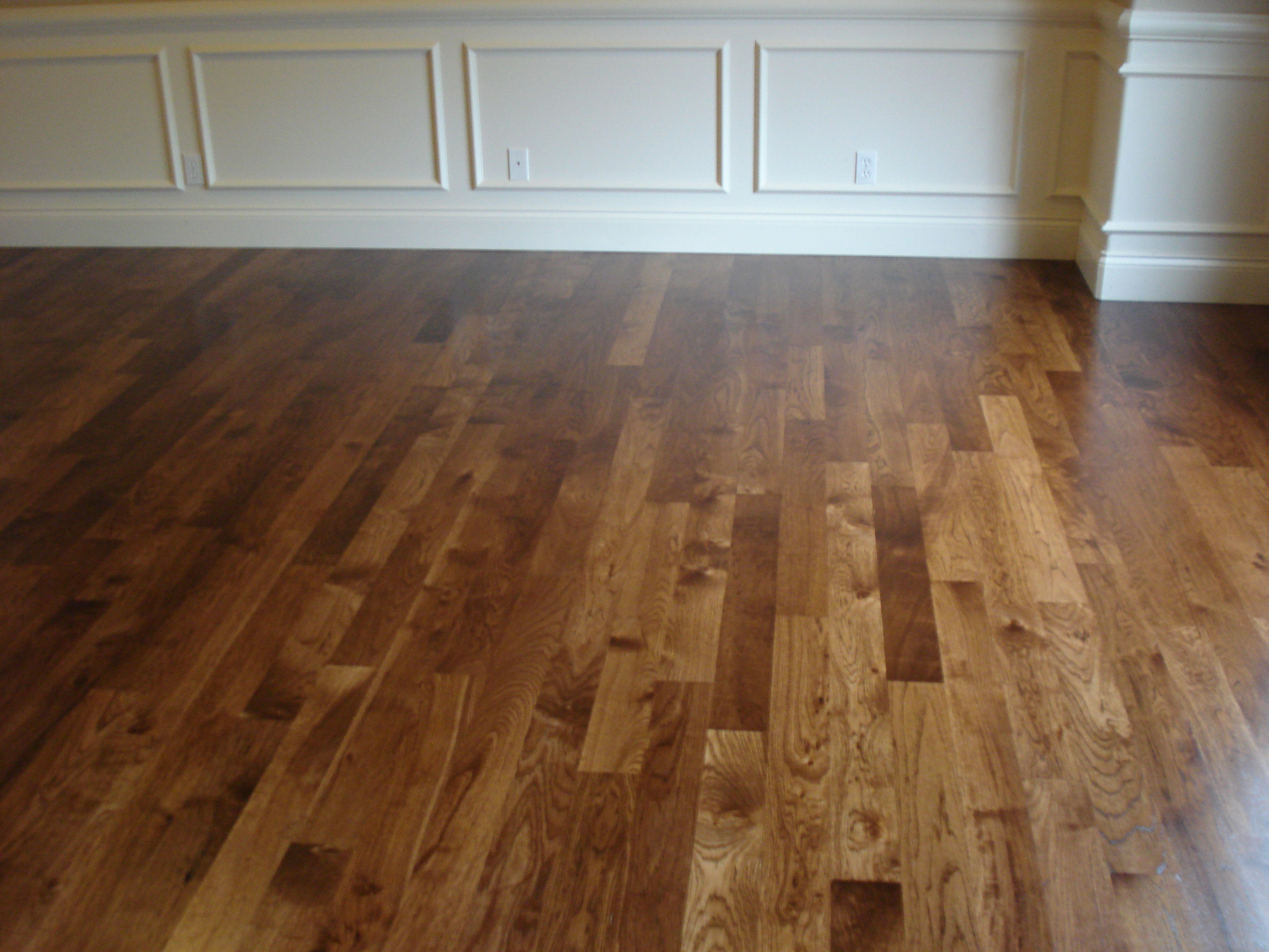 Empty Room Hardwood Floor 2