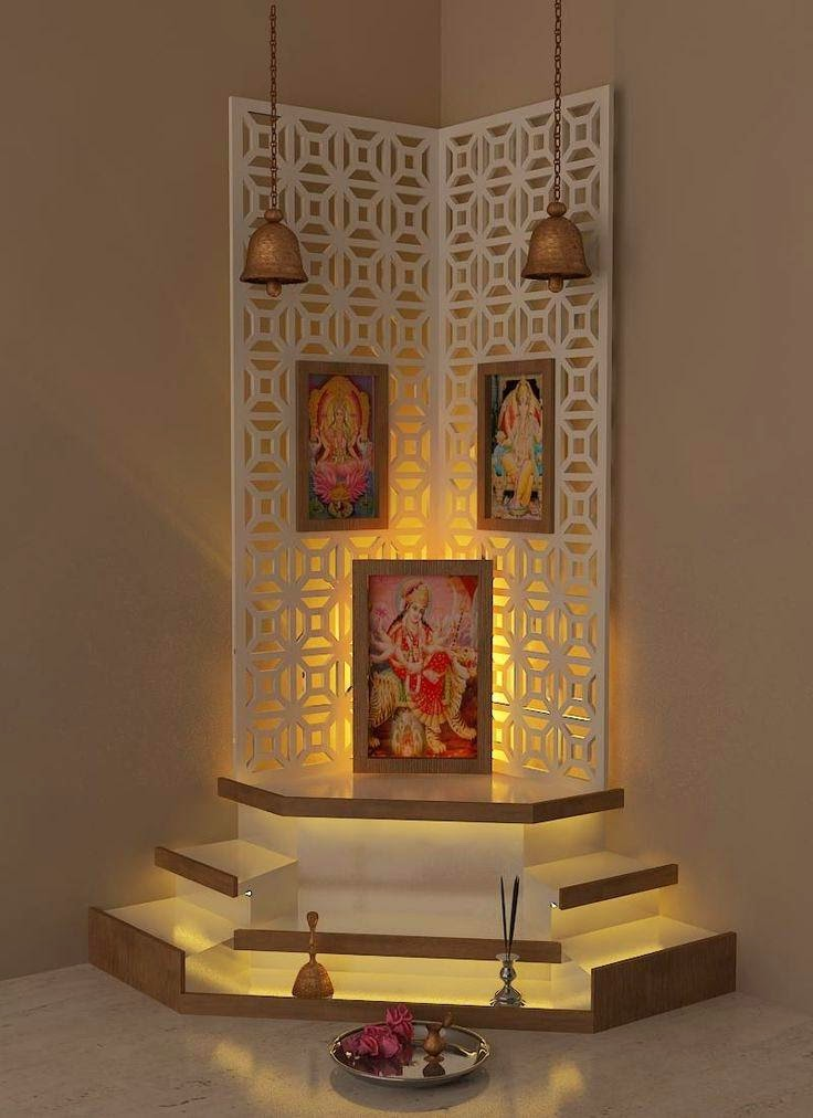 Designing the divine space prayer pooja room - Appealing ideas for living room decor ...