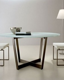 Multipurpose Round Glass Tables for Home