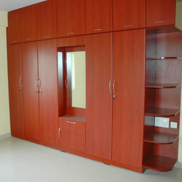 Image gallery indian wardrobe for Bedroom cupboard designs in india