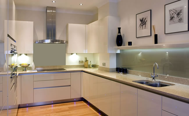 Awesome Kitchen Designs With No Handles