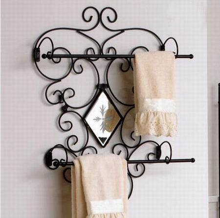 Innovative Wrought Iron Mirror Frame Iron Forged Furniture Designs For Bathroom