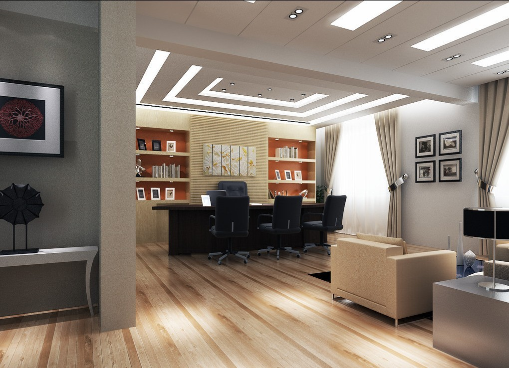 Md office interior design for Director office room design