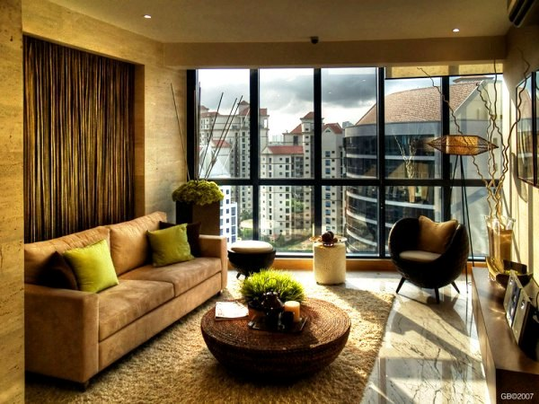 Eco friendly interior design ideas for Interior design of living room