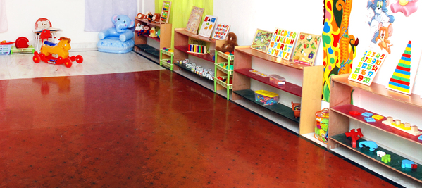 Kids playschool interiors for Play school interiors pictures