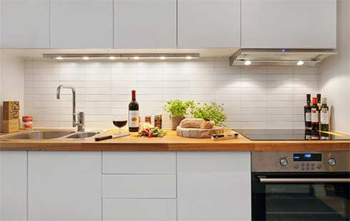 Smart wise space utilization for very small kitchens for Kitchen design for small space