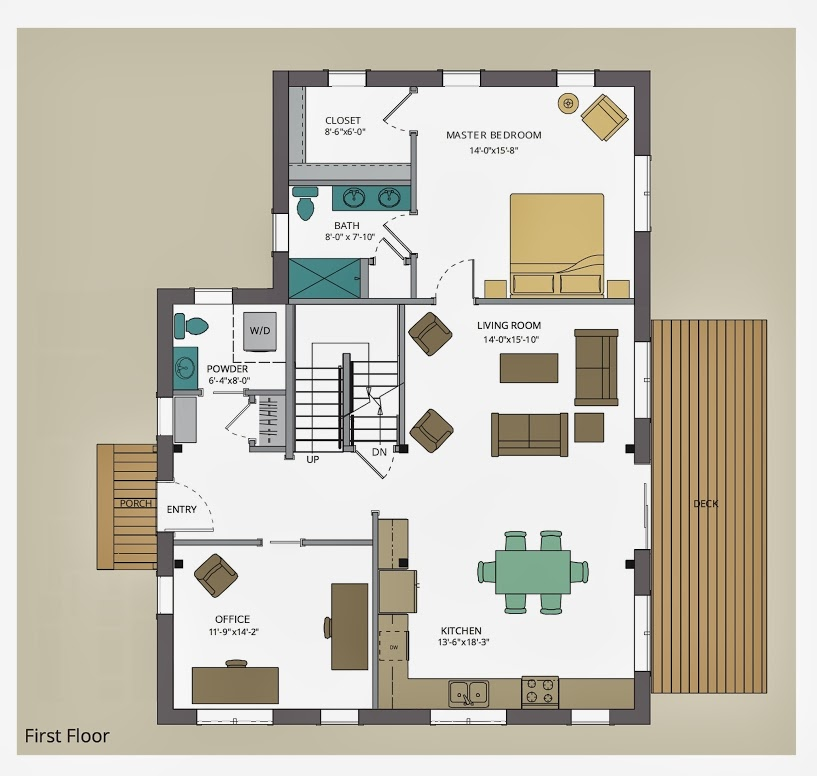 Importance of 2d floor layout in interior design for Interior design layout drawing