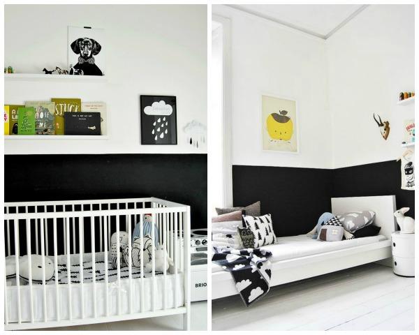 15 Half Painted Wall Decor Ideas