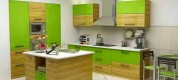 magnificent-sleek-green-kitchen-design