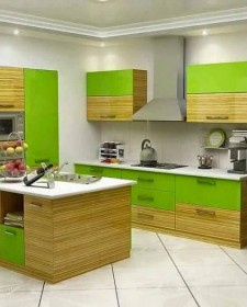 Design ideas for kitchen shelving and racks archives for Kichan farnichar design