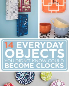 14 Everyday Objects You Didn't Know Could Become Clocks