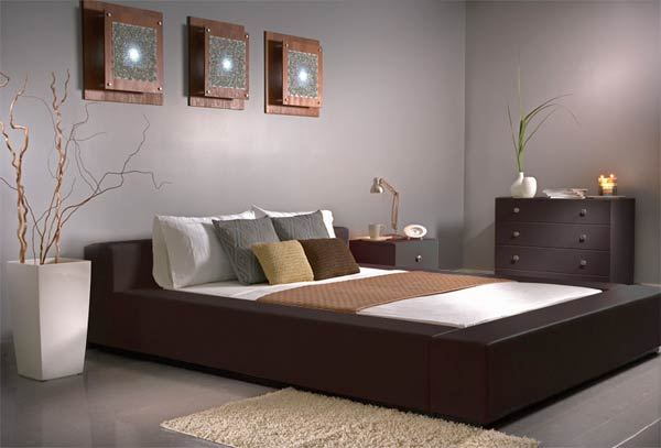 Modern Leather Bedroom 2009 Modern Furniture Design Themes