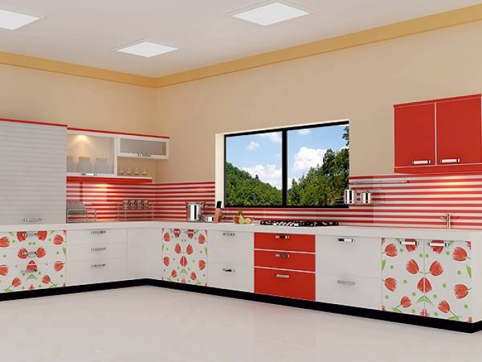 Charmant Modular Kitchen Work