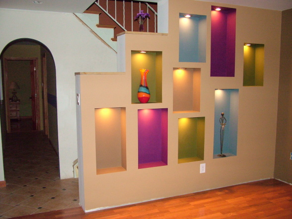 Wall Niches Designs 3 horizontal niches in walls hallway google search N5