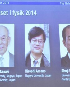 Inventors of Low Energy LED Light receives Nobel Prize in Physics