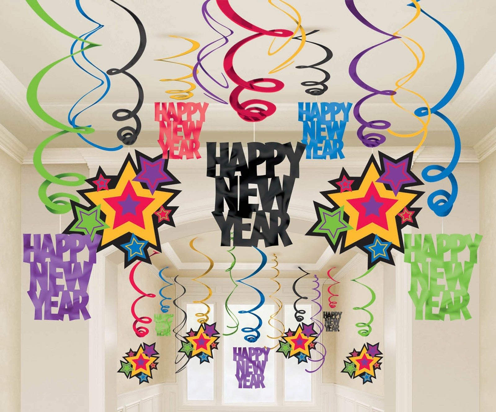 New year decorations ideas for your home for Decoration new year