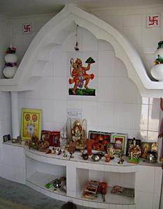 pooja room designs for home. House pooja room design  Idea home and house