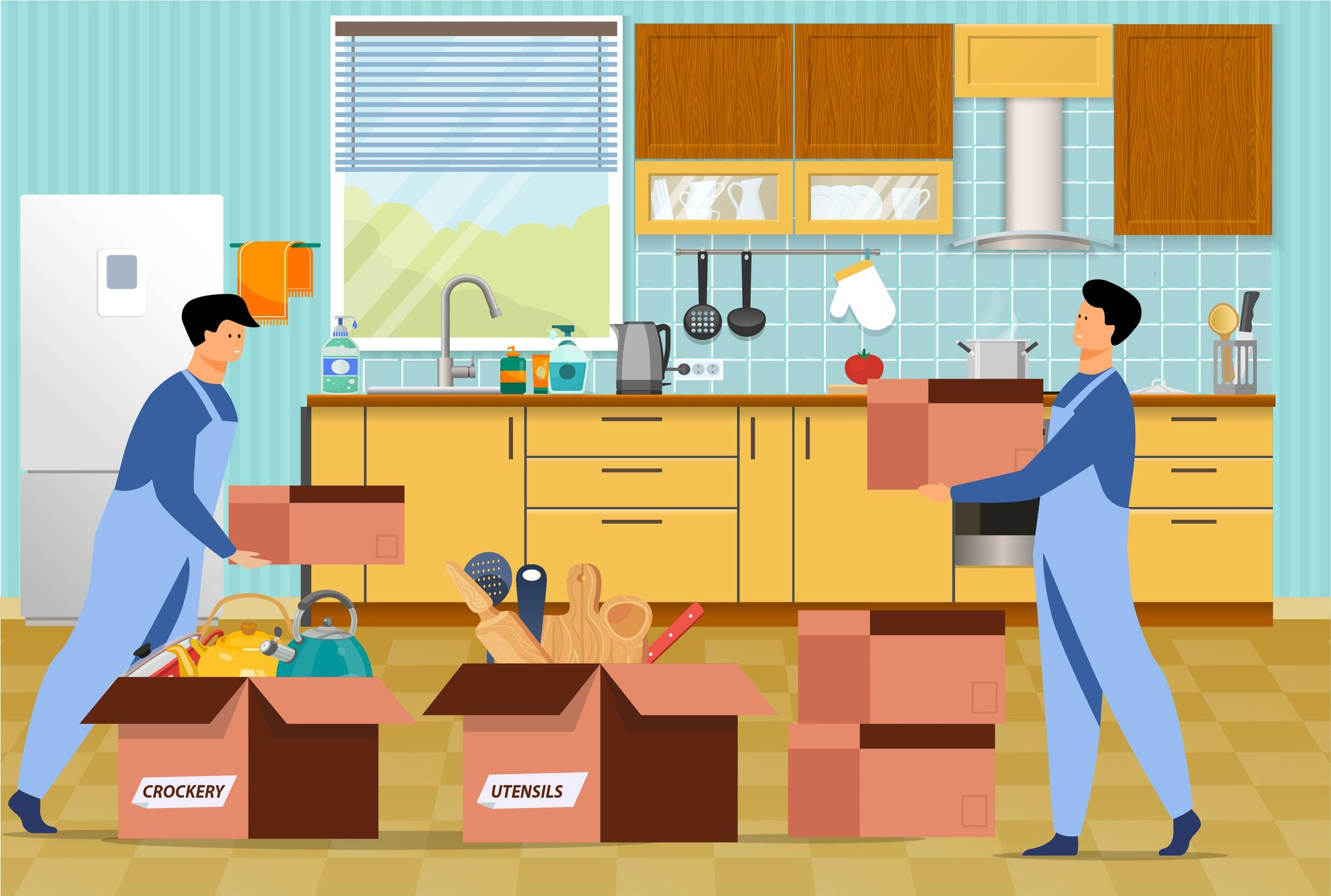packing-moving-tips-for-kitchen-items