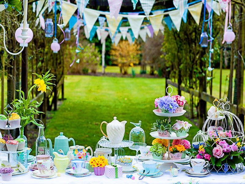 Unique Backyard Party Ideas : Birthday party decoration ideas