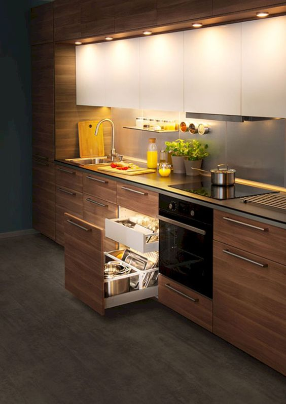 10 Trendy Modular Kitchen Designs Ideas For Small Kitchens