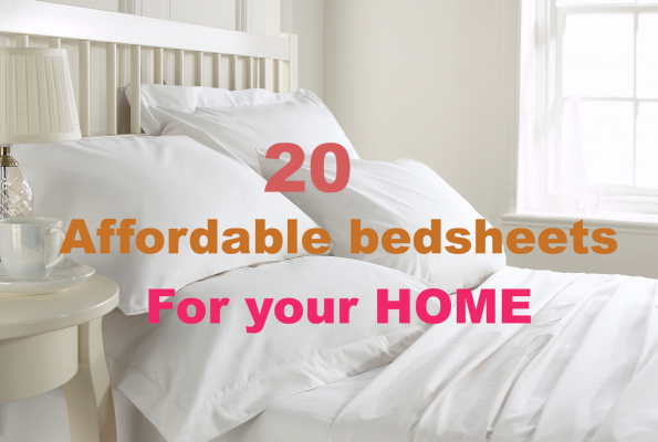 20 Affordable bed sheets for your bedroom