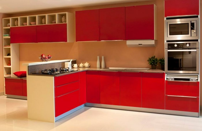 red-kitchen-kitchen