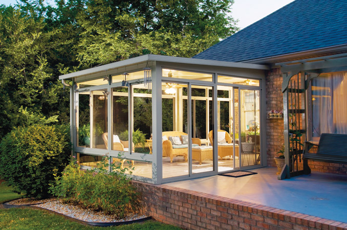 Impressive sun room concept ideas Room addition ideas
