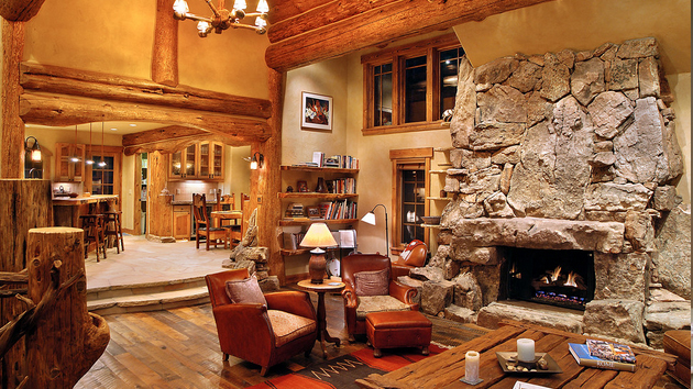 Rustic living room design ideas for Homey living room designs