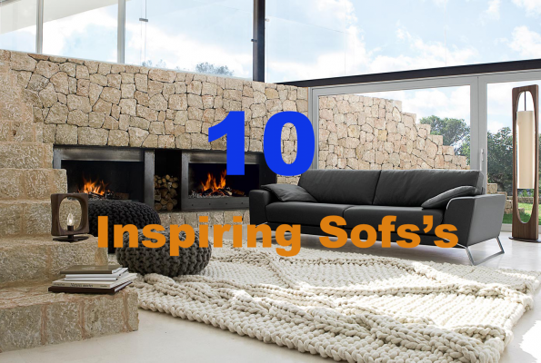10 Inspiring Sofa's for an elegant Living Room
