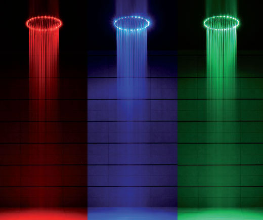 Lighting Shower If You Are Hy With Single Color Led Light Then Might Even