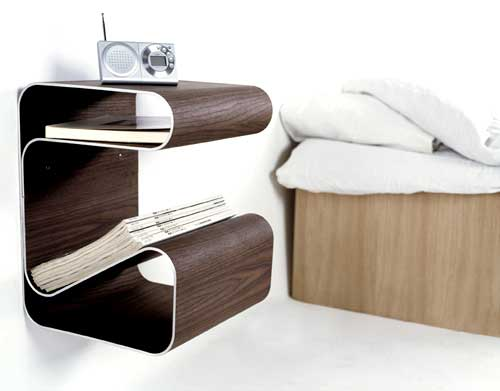 Bedside table not only gives a complete well designed visual impression to  the bed design but it also covers up many requirements under one single  stroke of ...