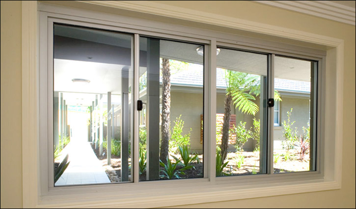 Elegant sliding windows for stunning interiors for Small sliding glass doors