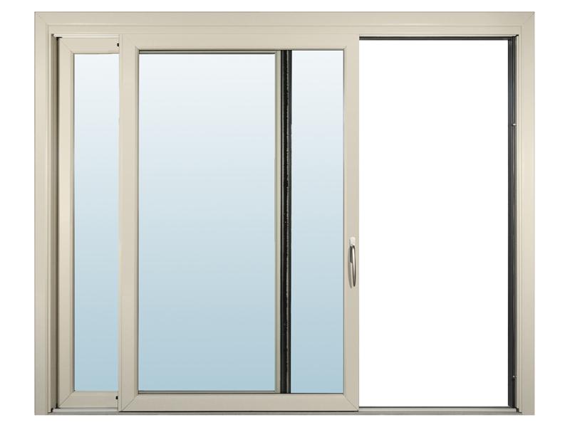 Elegant sliding windows for stunning interiors for Sliding window design for home