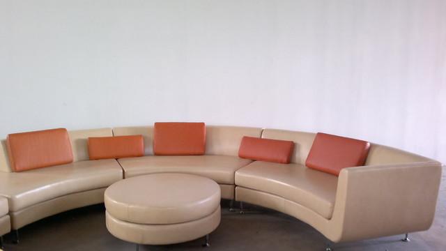 Front Elevation Of Sofa : Semicircular sofa design ideas