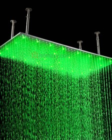 Add LED lighting for your Shower heads to have the best bathing experience