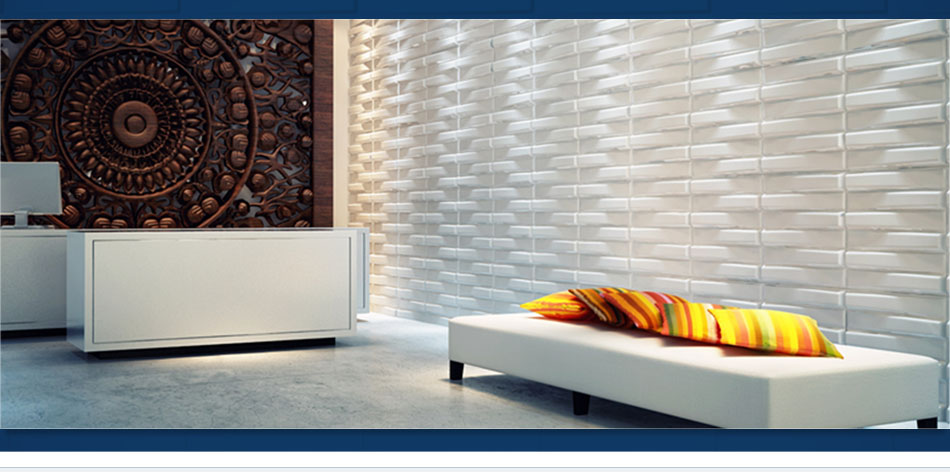 They Are The New Trend In Wall Coverings. After Easy Installation They Can  Be Painted In Any Color To Suit The Interior Of Your House Or Business Etc.  ...