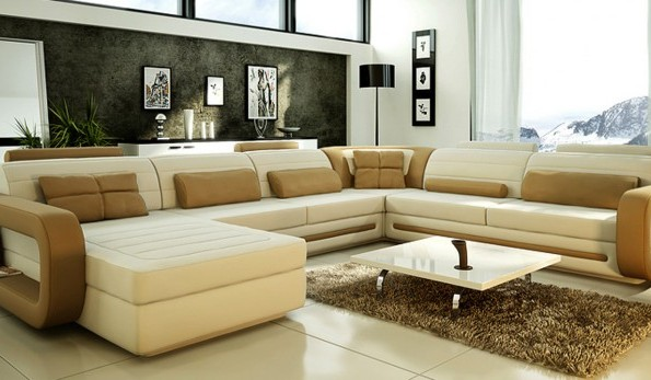 Top 7 ways to decorate your modern living room with stylish sofas