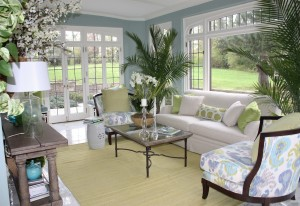 soft-blue-sunroom-s-wall-paint-colors-with-white-sofa-and-plants