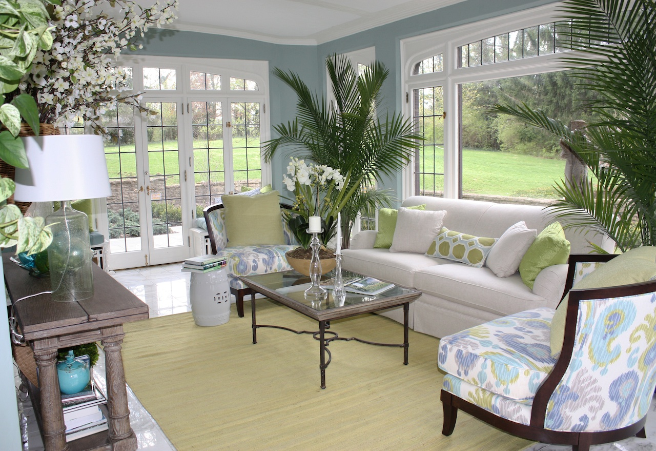 Impressive sun room concept ideas for Paint design decor