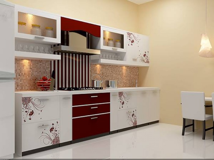 Straight Kitchen Designs